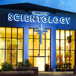 scientology big blue complex