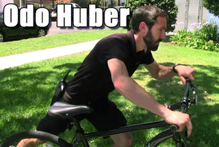 scientology bike guard odo huber