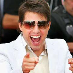 tom cruise smarmy