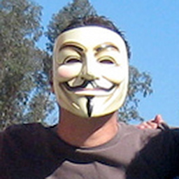 Scientology Protester Anonymous