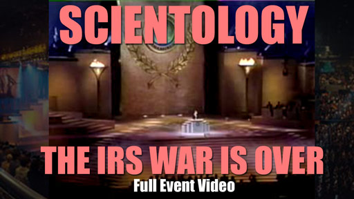 war is over irs scientology video