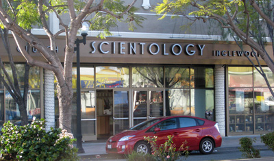 scientology inglewood ideal org entrance